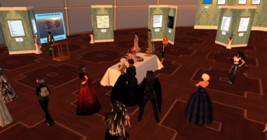 Poetry Gallery Readings in Second Life