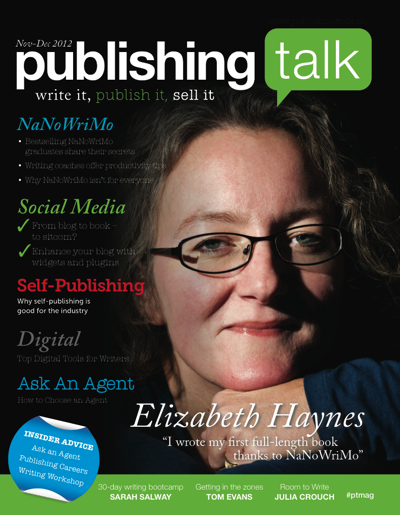 Publishing Talk Magazine issue 3 - NaNoWriMo
