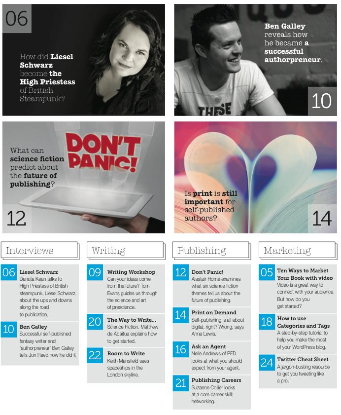 Publishing Talk Magazine issue 5 - highlights