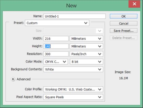 Image file setup