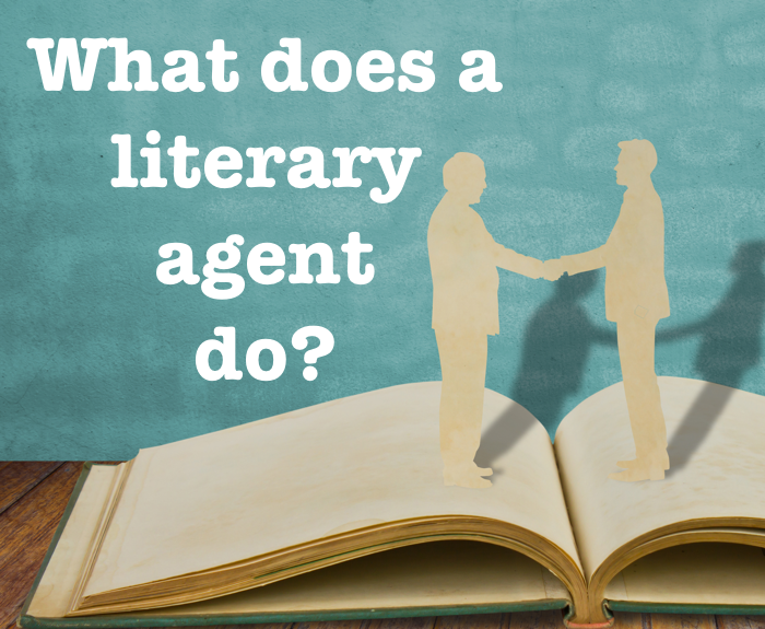 What does a literary agent do