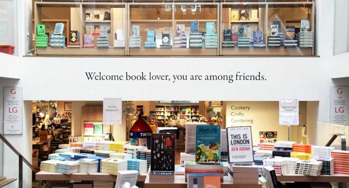 Foyles Bookshop, London