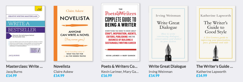 Teach Yourself creative writing titles